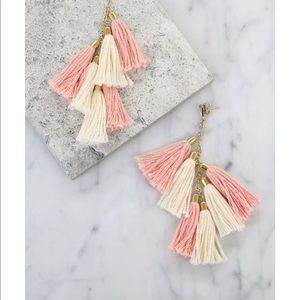 Brand new Ettika daydreamer tassel earrings